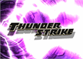 Illustration of font Thunderstrike