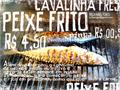 Illustration of font PEIXE FRITO