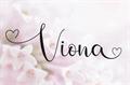 Illustration of font Viona