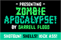 Illustration of font Zombie Apocalypse