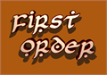 Illustration of font First Order