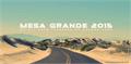 Illustration of font Mesa Grande