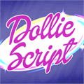 Illustration of font Dollie Script Personal Use