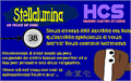Illustration of font Stellalumina