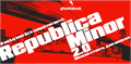 Illustration of font Republica Minor 2.0