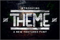 Illustration of font THEME