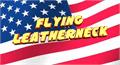 Illustration of font Flying Leatherneck