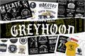 Illustration of font S&S GreyHood Seven