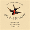 Illustration of font Sailor's Delight