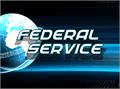 Illustration of font Federal Service