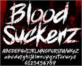 Illustration of font BLOODSEEKER DEMO