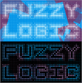 Illustration of font Fuzzy Logic