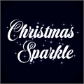 Illustration of font Christmas Sparkle PERSONAL USE