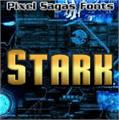 Illustration of font Stark