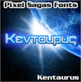 Illustration of font Kentaurus