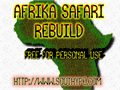 Illustration of font Afrika Safari Rebuild St