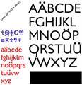 Illustration of font Sans Between