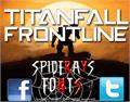 Illustration of font TITANFALL FRONTLINE