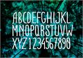 Illustration of font ADENTULISAN