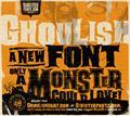 Illustration of font Ghoulish