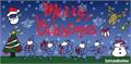 Illustration of font Merry Christmas
