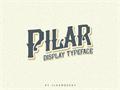 Illustration of font Pilar Typeface