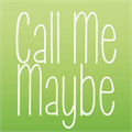 Illustration of font KG Call Me Maybe