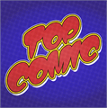 Illustration of font Top Comic Personal Use Only