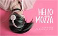 Illustration of font Hello Mozza