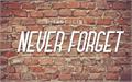 Illustration of font Never Forget