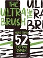 Illustration of font ULTRA BRUSH