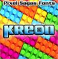 Illustration of font Kreon