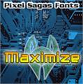 Illustration of font Maximize