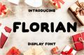 Illustration of font FLORIAN