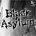 Illustration of font Black Asylum