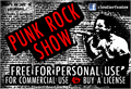 Illustration of font PunkRockShow