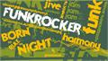 Illustration of font Funkrocker