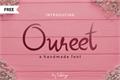 Illustration of font Oureet
