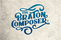 Illustration of font Braton Composer Stamp Rough