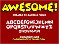 Illustration of font Awesome