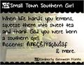 Illustration of font KG Small Town Southern Girl