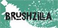 Illustration of font DK Brushzilla