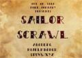 Illustration of font Sailor Scrawl