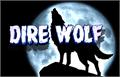 Illustration of font Dire Wolf