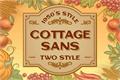 Illustration of font Cottage Sans