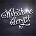 Illustration of font DHF Milestone Script Demo