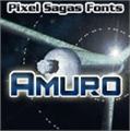 Illustration of font Amuro