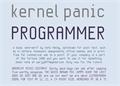 Illustration of font KP Programmer NBP