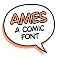 Illustration of font Ames