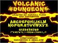 Illustration of font Volcanic Dungeon